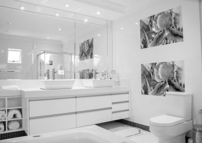 Custom Bathroom Mirrors BW