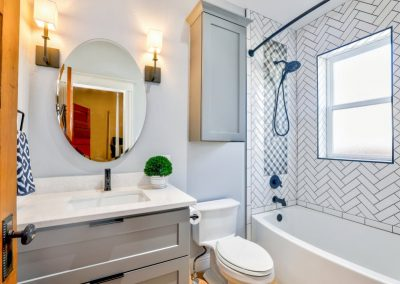 Bathroom Mirror Installs